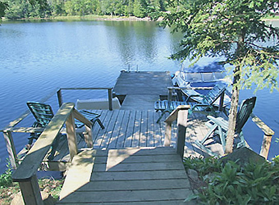 Shadow Lake 8 Shore Deck Dock