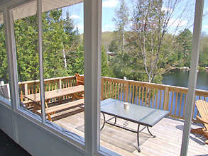 Soyers Lake 25 Screened Porch